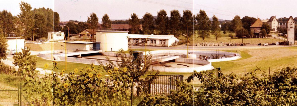 Kläranlage Adelebsen 1974