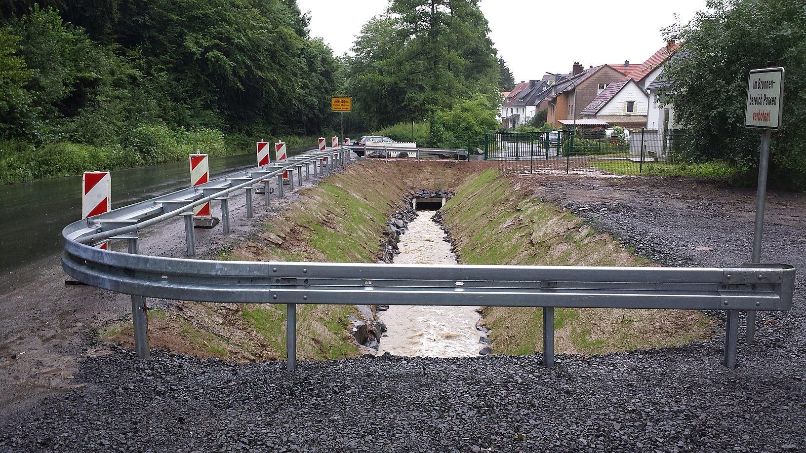 Ausbau der Lechtmer Beeke am Brunnen 1